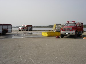 Fire Truck Training