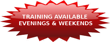 Training Available Evenings & Weekends